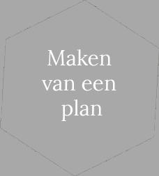 maken van een plan